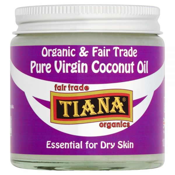 TIANA® Fairtrade Organics Pure Virgin Coconut Oil Essential for Dry Skin 6 for 5