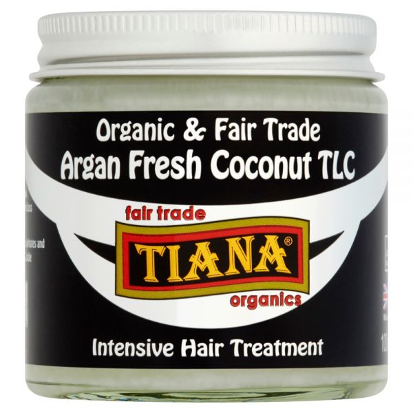 TIANA® Fairtrade Organics Argan Fresh Coconut TLC Intensive Hydration Treatment for Hair