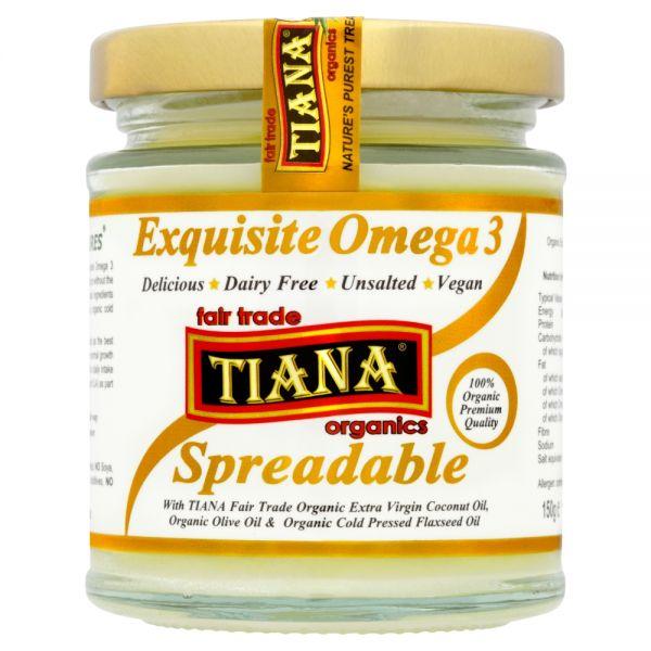 TIANA® Fairtrade Organics Omega 3 Spreadable Butter 6 for 5