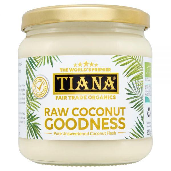 TIANA® Fairtrade Organics Raw Coconut Goodness