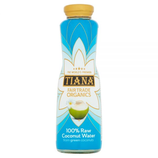 TIANA® Fairtrade Organics Raw Pure Coconut Water