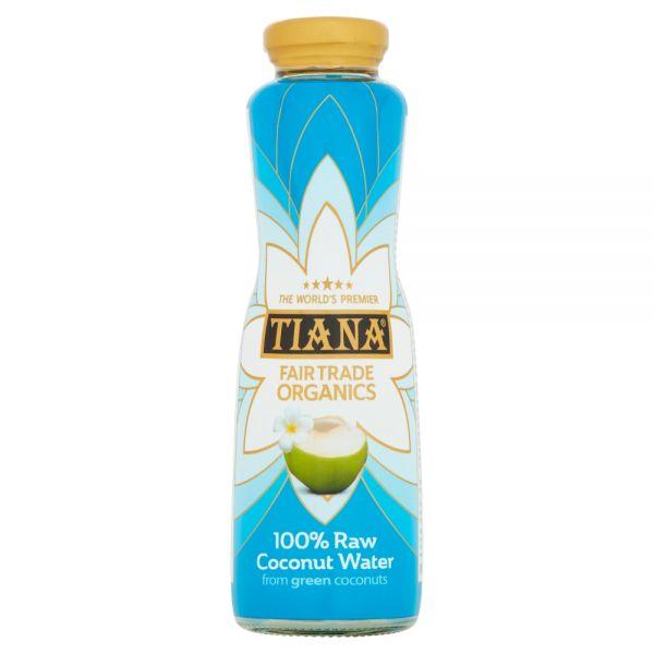 TIANA® Fairtrade Organics Raw Pure Coconut Water 6 for 5