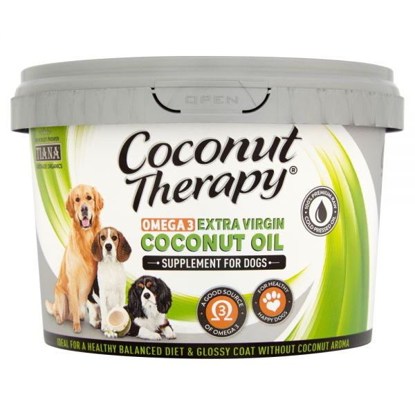 TIANA® Fairtrade Organics Coconut Oil Omega-3 Supplement for Pets