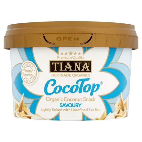 TIANA® Fairtrade Organics CocoTop Snack Savoury