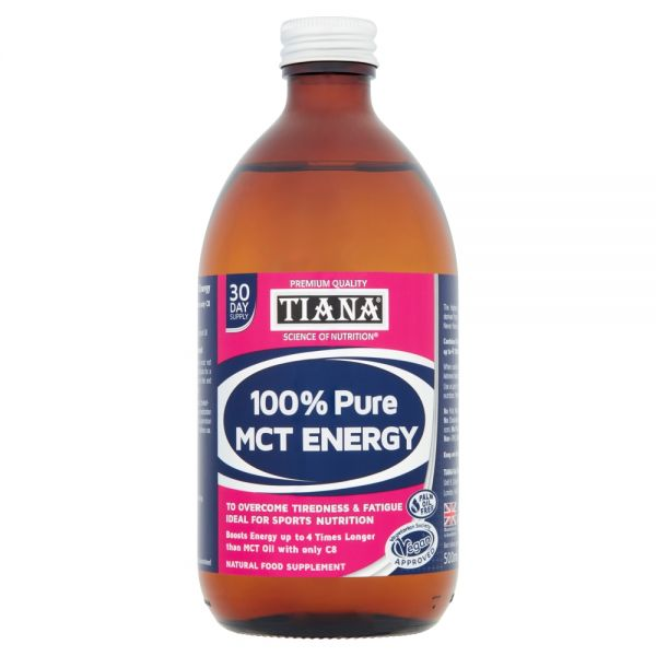 TIANA® High Strength 100% Pure MCT Energy 500ml 6 for 5