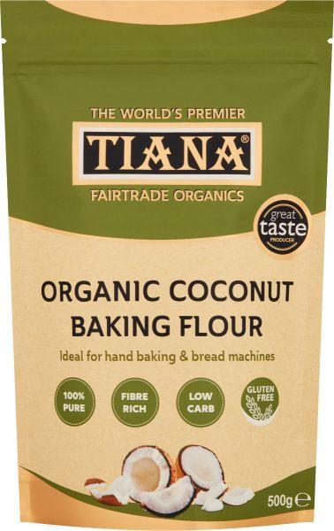 TIANA® Fairtrade Organics Gluten-Free Coconut Baking Flour