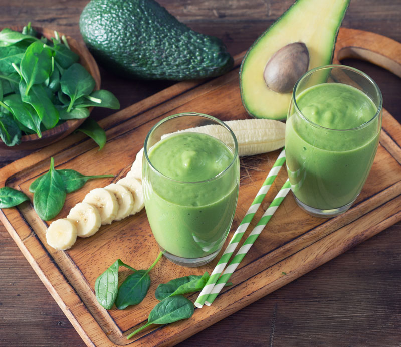 Banana, Coconut and Avocado Energising Smoothie with MCT