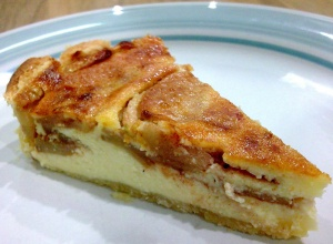 Cheese and Apple Tart