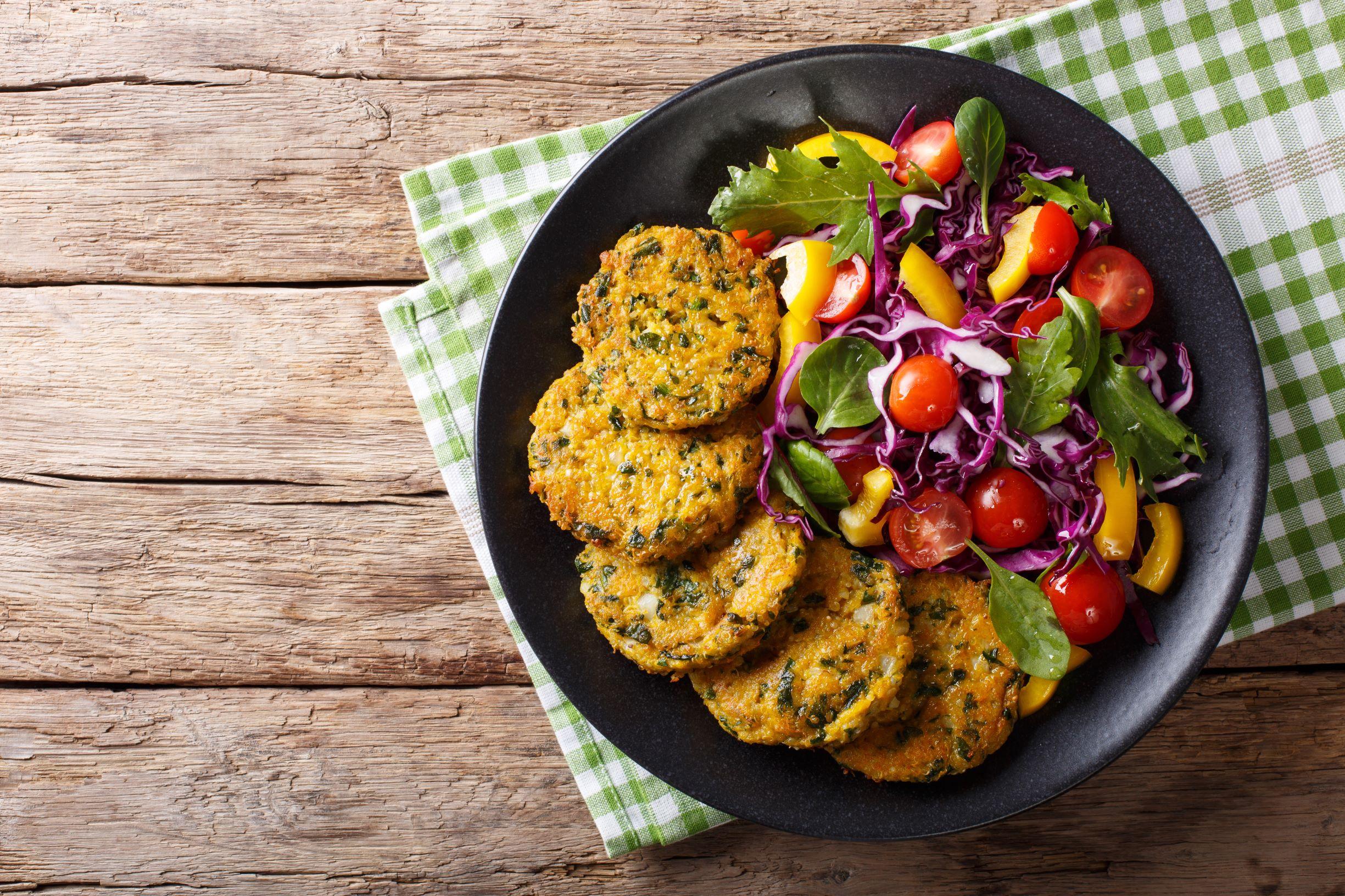 Vegan Quinoa Rosti