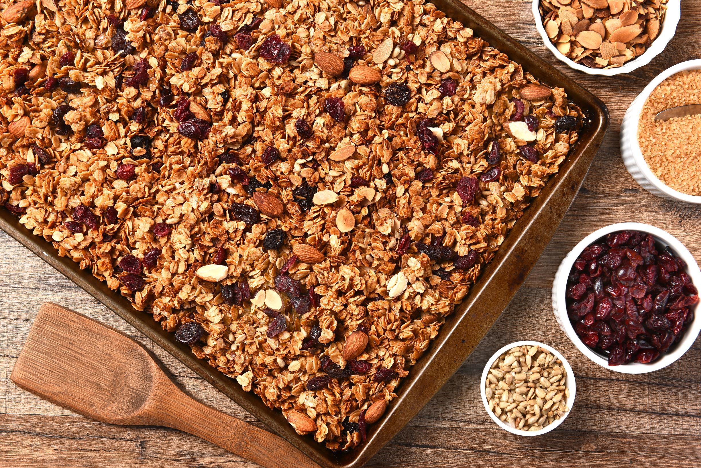 Cranberry Energy Granola Crunch