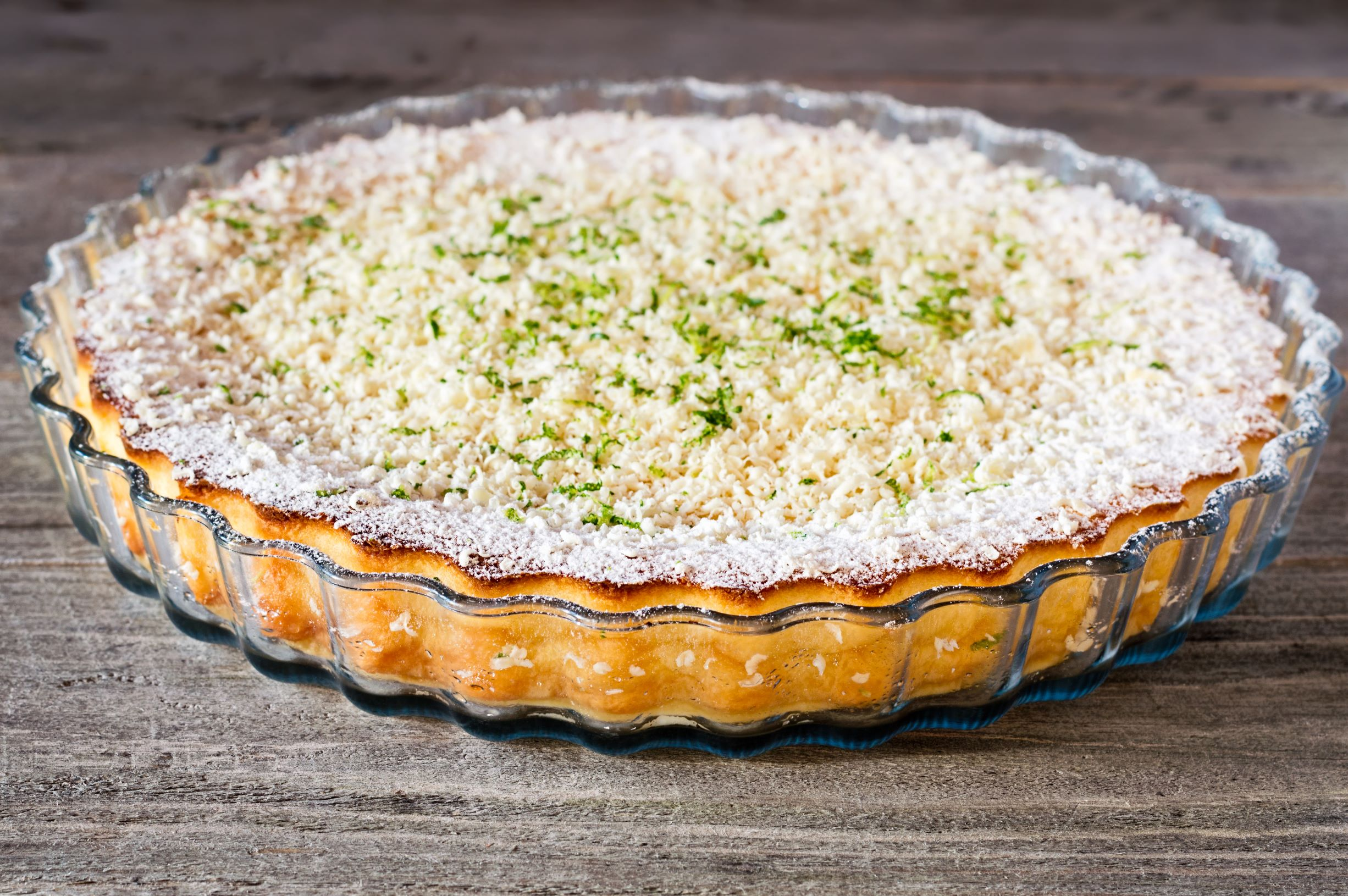 Raw Vegan Coconut and Lemon Pie