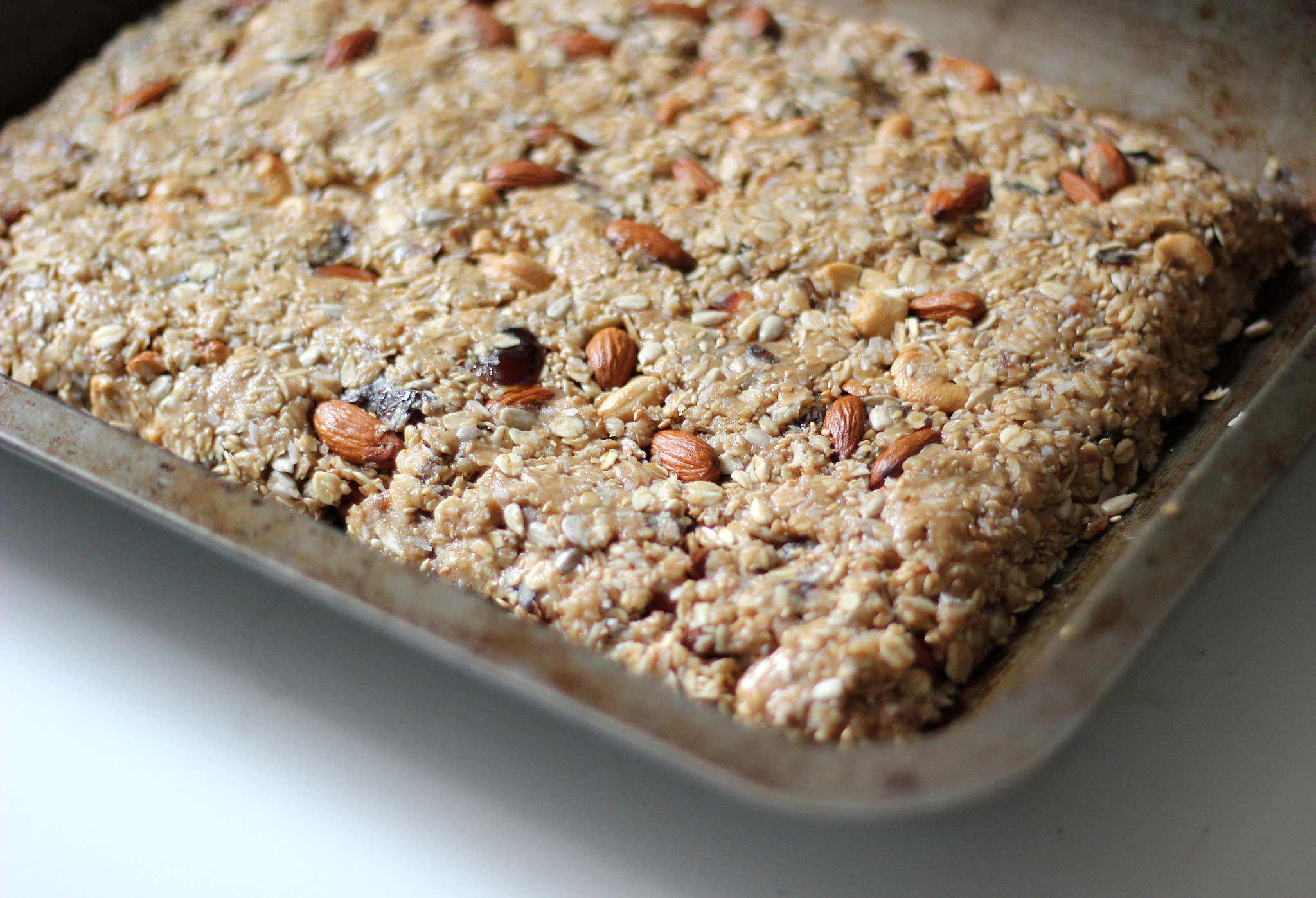Raw Coconut Almond Bar