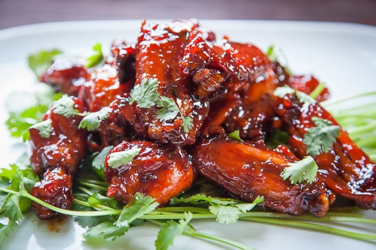 Caramelised Chicken Wings