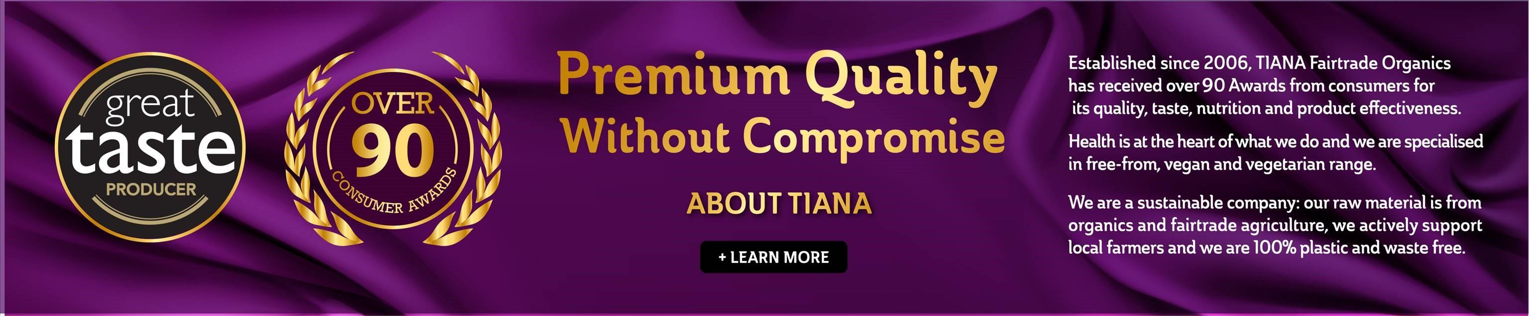 the world's premier tiana fairtrade organics