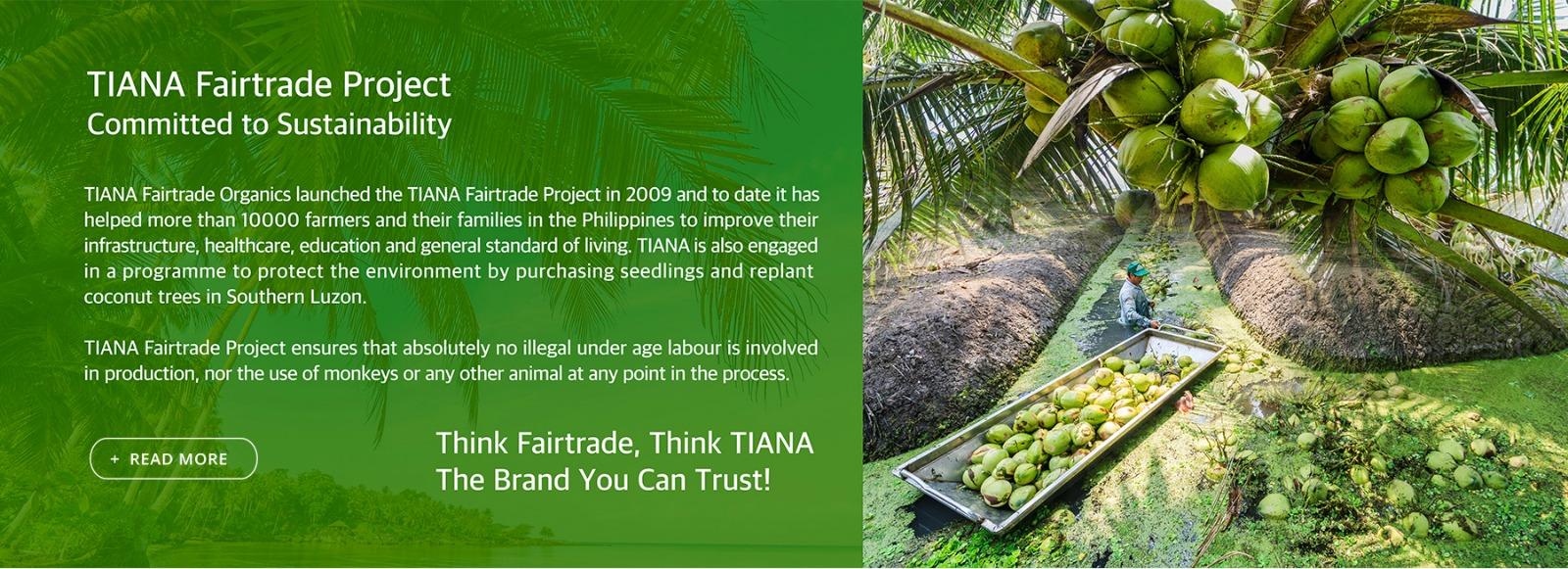 tiana fairtrade organics